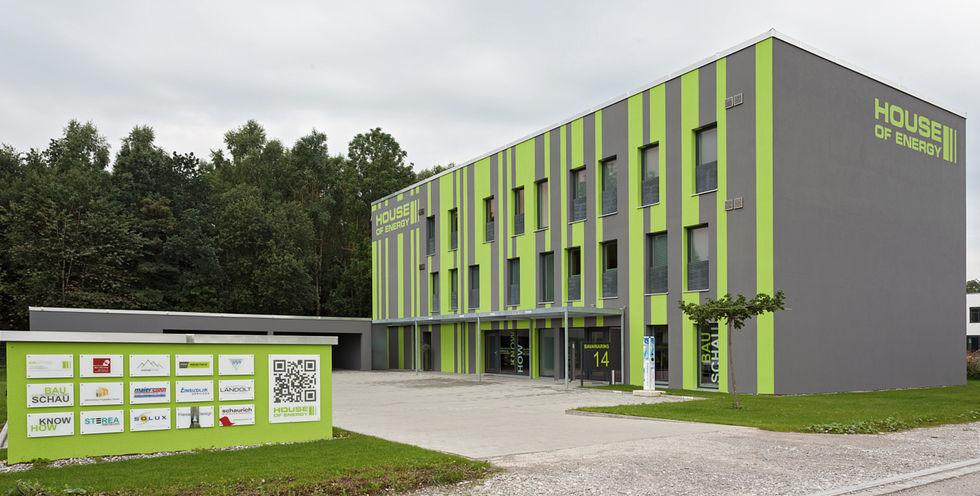 Le siège social d'Airoptima, le premier bâtiment passif Premium au monde