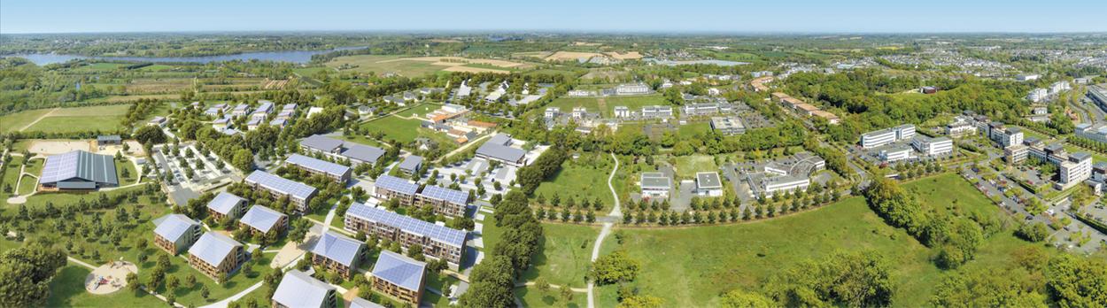 Panorama du site de la Fleuriaye