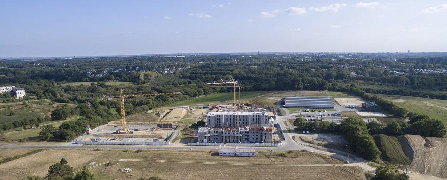 Les travaux de l'éco-quartier ont débuté en mai 2015