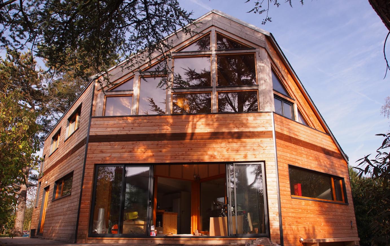 la maison passive barbante, l'architecture passive ?