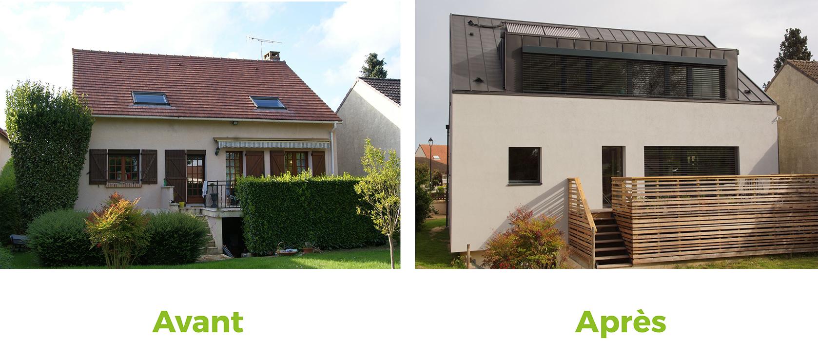 La maison passive focus maison les r novations de l extr me - Renovation maison avant apres ...