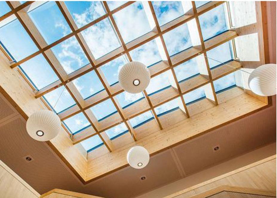 la maison passive premi re verri re de toit certifi e. Black Bedroom Furniture Sets. Home Design Ideas