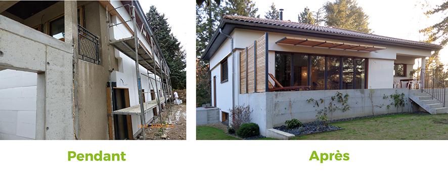 transformer une maison ancienne en passive avie home. Black Bedroom Furniture Sets. Home Design Ideas
