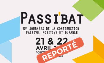 Passibat 2020 reporté